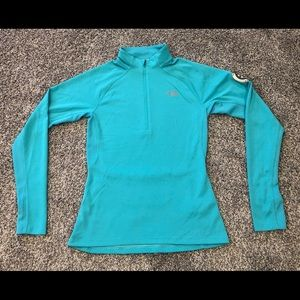 The North Face Teal Running Flash Dry Jacket